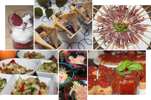 Ella Catering Collage